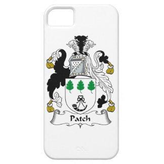 Escudo de la familia del remiendo iPhone 5 cárcasa