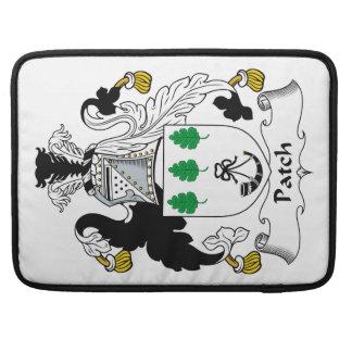 Escudo de la familia del remiendo fundas macbook pro