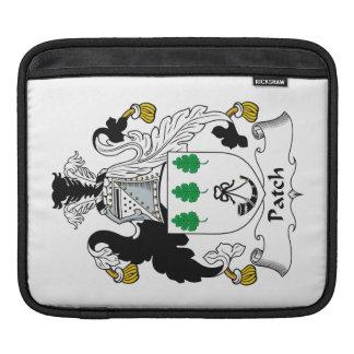 Escudo de la familia del remiendo mangas de iPad