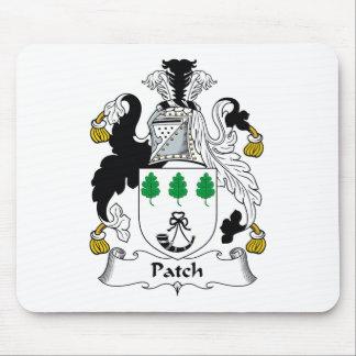 Escudo de la familia del remiendo tapete de ratón