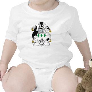 Escudo de la familia del remiendo trajes de bebé