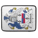 Escudo de la familia del Roebuck Fundas Macbook Pro