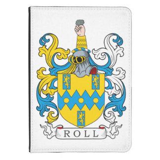 Escudo de la familia del rollo funda para kindle