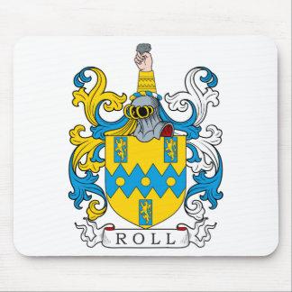 Escudo de la familia del rollo tapetes de ratón