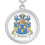 Escudo de la familia del Rondeau Grímpola