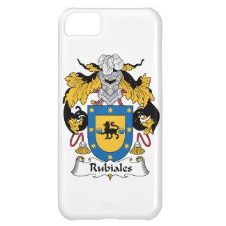 Escudo de la familia del Rubiales Funda Para iPhone 5C
