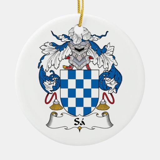 Escudo de la familia del Sa Ornatos