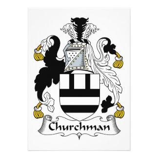 Escudo de la familia del sacerdote comunicado