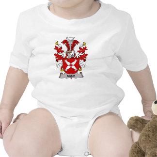 Escudo de la familia del saco traje de bebé