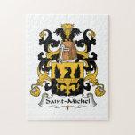 Escudo de la familia del Saint-Michel Puzzle
