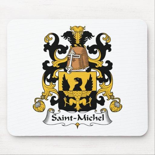 Escudo de la familia del Saint-Michel Tapete De Ratón