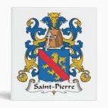 Escudo de la familia del Saint Pierre