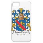 Escudo de la familia del Saint Pierre iPhone 5 Case-Mate Fundas
