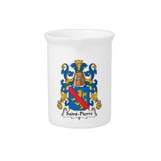 Escudo de la familia del Saint Pierre Jarrón