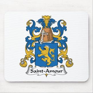Escudo de la familia del Santo-Amorío Alfombrilla De Ratones