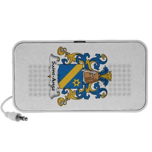 Escudo de la familia del Santo-Ange iPod Altavoces