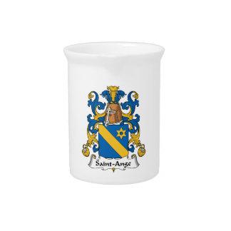 Escudo de la familia del Santo-Ange Jarra