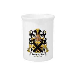 Escudo de la familia del Santo-Aubin Jarras