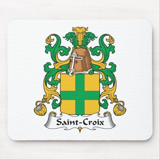 Escudo de la familia del Santo-Croix Tapete De Ratón