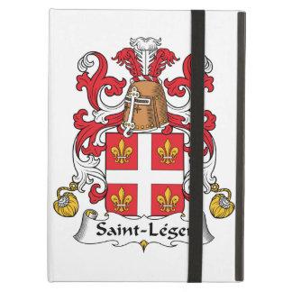 Escudo de la familia del Santo-Leger