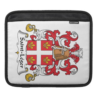 Escudo de la familia del Santo-Leger Fundas Para iPads