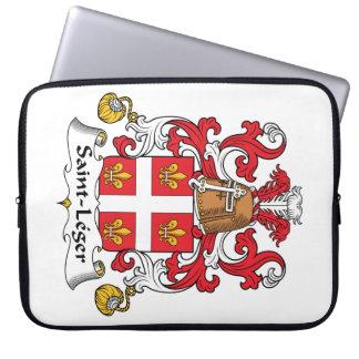 Escudo de la familia del Santo-Leger Fundas Ordendadores