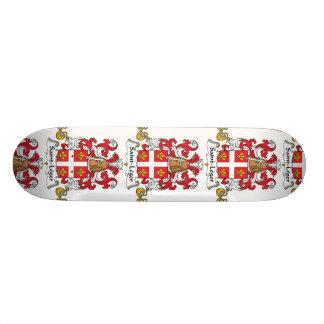 Escudo de la familia del Santo-Leger Tabla De Patinar
