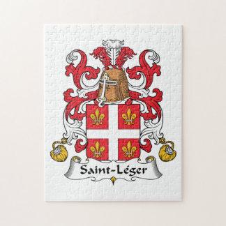 Escudo de la familia del Santo-Leger Rompecabezas Con Fotos