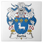 Escudo de la familia del Sarda Azulejos