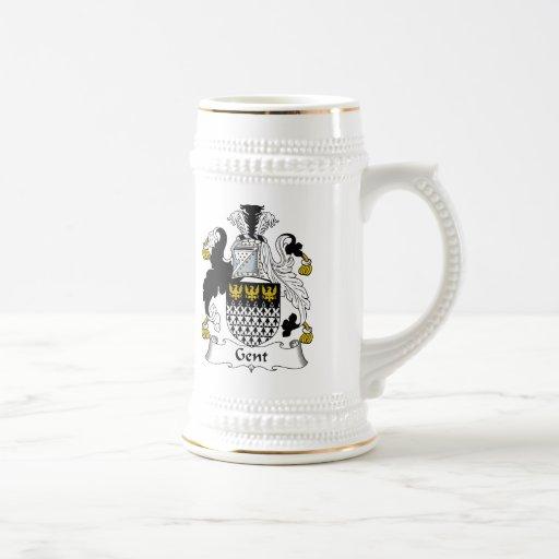 Escudo de la familia del señor jarra de cerveza