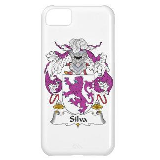 Escudo de la familia del Silva Funda Para iPhone 5C