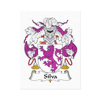 Escudo de la familia del Silva Lona Estirada Galerias