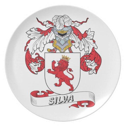 Escudo de la familia del Silva Platos