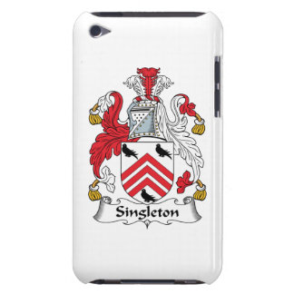 Escudo de la familia del Singleton iPod Touch Carcasas
