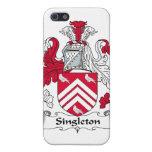 Escudo de la familia del Singleton iPhone 5 Cárcasas