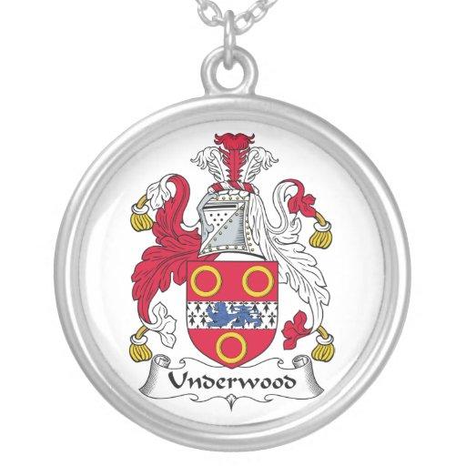 Escudo de la familia del sotobosque joyerías