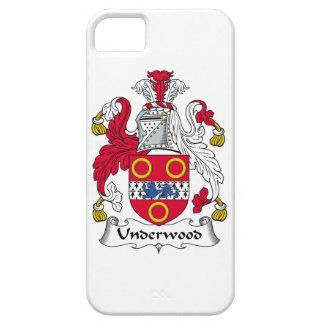 Escudo de la familia del sotobosque iPhone 5 Case-Mate carcasa