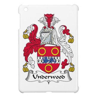 Escudo de la familia del sotobosque iPad mini cobertura