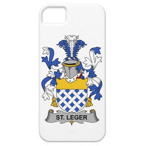 Escudo de la familia del St. Leger iPhone 5 Case-Mate Carcasas