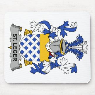 Escudo de la familia del St. Leger Tapetes De Raton