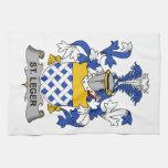 Escudo de la familia del St. Leger Toallas