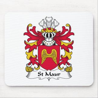 Escudo de la familia del St Maur Mousepads