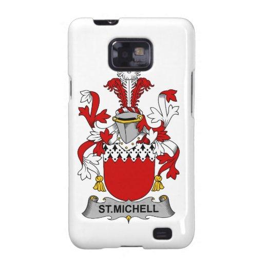 Escudo de la familia del St. Michell Samsung Galaxy S2 Funda