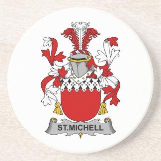 Escudo de la familia del St. Michell Posavasos Manualidades