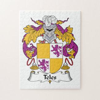Escudo de la familia del Teles Puzzle Con Fotos