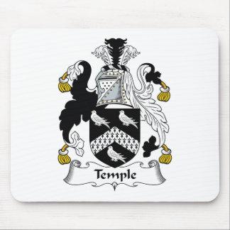 Escudo de la familia del templo alfombrilla de raton