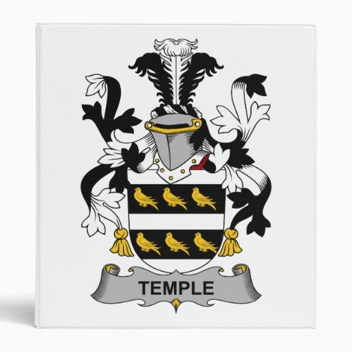 Escudo de la familia del templo