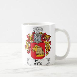 Escudo de la familia del Testa Taza