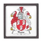 Escudo de la familia del Thane Cajas De Regalo De Calidad