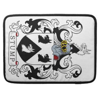 Escudo de la familia del tocón funda macbook pro
